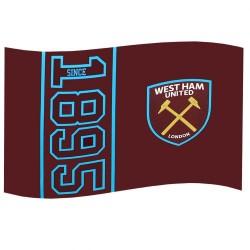 Vlajka West Ham United FC (typ SN)
