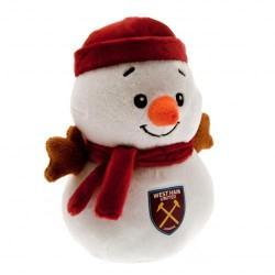 Plyšový sněhulák West Ham United FC (typ 16)