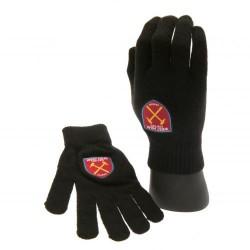 Zimní rukavice dětské West Ham United FC černé (typ 17)