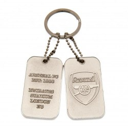 Přívěsek na klíče s psí známkou Arsenal FC