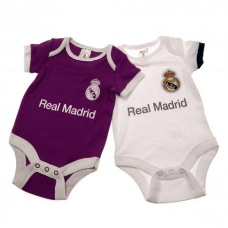 Kojenecké body Real Madrid FC (2 ks) (typ PL) velikost 9-12 měsíců
