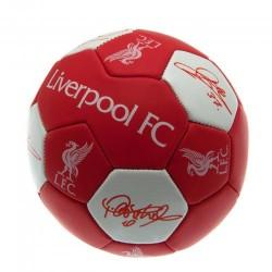 Fotbalový míč Liverpool FC Nuskin s podpisy (velikost 3)