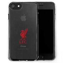 Kryt průhledný na iPhone 7 Liverpool FC