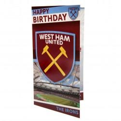 Blahopřání k narozeninám West Ham United FC (typ 17)