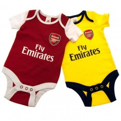 Kojenecké body Arsenal FC (2 ks) (typ DR) velikost 3-6 měsíců