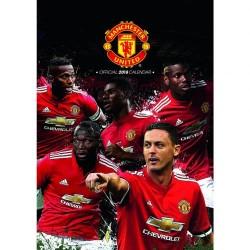 Velký kalendář 2018 Manchester United FC