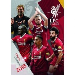 Velký kalendář 2018 Liverpool FC
