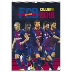 Velký kalendář 2018 Barcelona FC