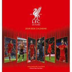 Stolní kalendář 2018 Liverpool FC