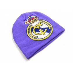 Zimní čepice Real Madrid FC fialová (typ 18)