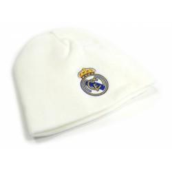 Zimní čepice Real Madrid FC bílá (typ 18)
