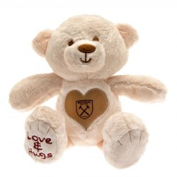 Plyšový medvěd se srdíčkem West Ham United FC