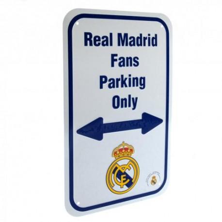 Plechová cedulka Real Madrid FC No Parking (typ 18)