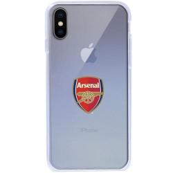 Kryt průhledný na iPhone X Arsenal FC