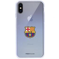 Kryt průhledný na iPhone X Barcelona FC