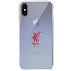 Kryt průhledný na iPhone X Liverpool FC