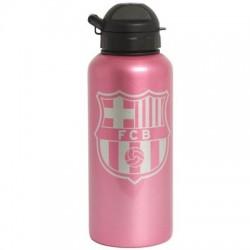 Láhev na pití Barcelona FC hliníková růžová