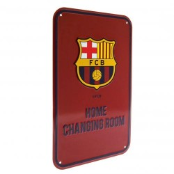 Plechová cedulka Barcelona FC šatna (typ 18)
