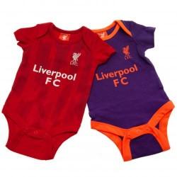 Kojenecké body Liverpool FC (2 ks) (typ PL) velikost 6-9 měsíců