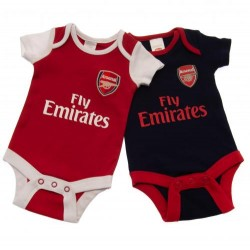 Kojenecké body Arsenal FC (2 ks) (typ NR) velikost 0-3 měsíce