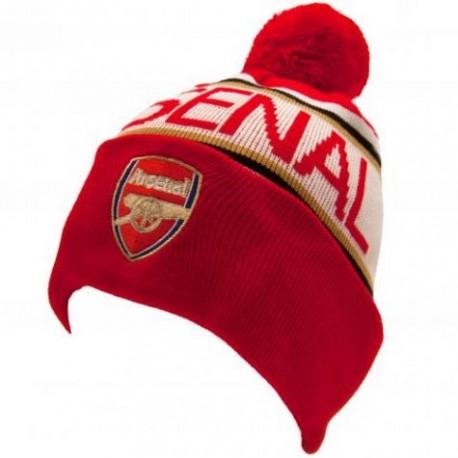 Zimní čepice Arsenal FC s bambulí (typ TX)