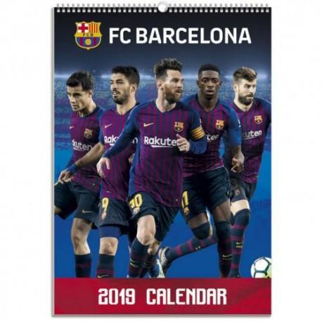 Velký kalendář 2019 Barcelona FC