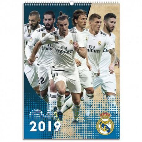 Velký kalendář 2019 Real Madrid FC