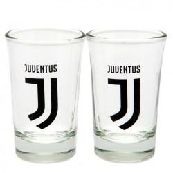 Sada 2ks skleniček panáků Juventus Turín FC (typ 18)