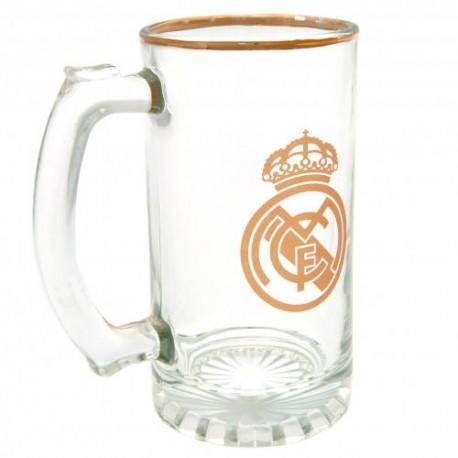 Pivní sklenice s uchem Real Madrid FC (typ 18)