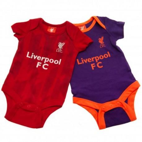 Kojenecké body Liverpool FC (2 ks) (typ PL) velikost 0-3 měsíce