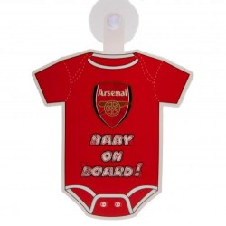Cedulka do auta Baby on board Arsenal FC (typ body)