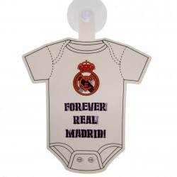 Cedulka do auta Baby on board Real Madrid FC (typ body)