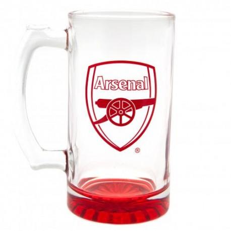 Pivní sklenice s uchem Arsenal FC (typ 19)