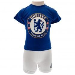 Kojenecké tričko a šortky Chelsea FC (typ CW) velikost 9-12 měsíců