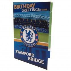 Vyskakovací přání k narozeninám Chelsea FC (typ 19)
