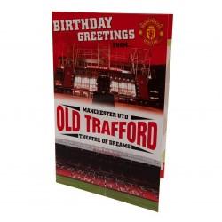 Vyskakovací přání k narozeninám Manchester United FC (typ 19)