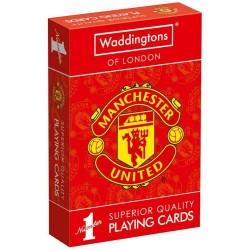 Hrací karty Manchester United FC (typ 19)