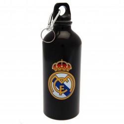 Láhev na pití Real Madrid FC hliníková černá (typ 19)