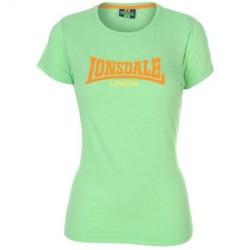 Dámské tričko Lonsdale 73 zelené velikost M