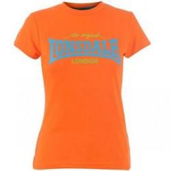 Dámské tričko Lonsdale 93 oranžové velikost XL