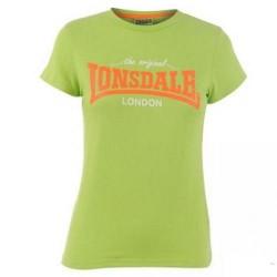 Dámské tričko Lonsdale 93 zelené velikost XL