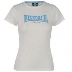 Dámské tričko LOnsdale 74 bílé velikost XXL