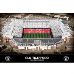 Plakát stadion Manchester United FC (typ 80)