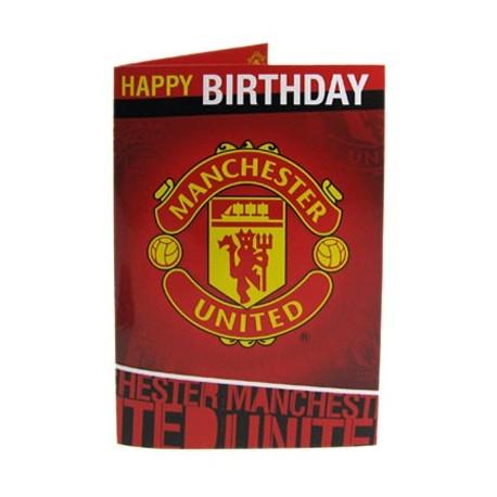 Hrací blahopřání k narozeninám Manchester United FC