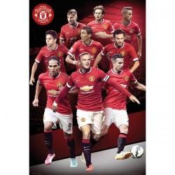 Plakát Manchester United FC hráči (typ 85)