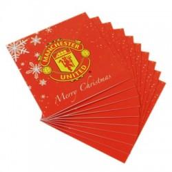 Vánoční přání Manchester United FC (10 ks)