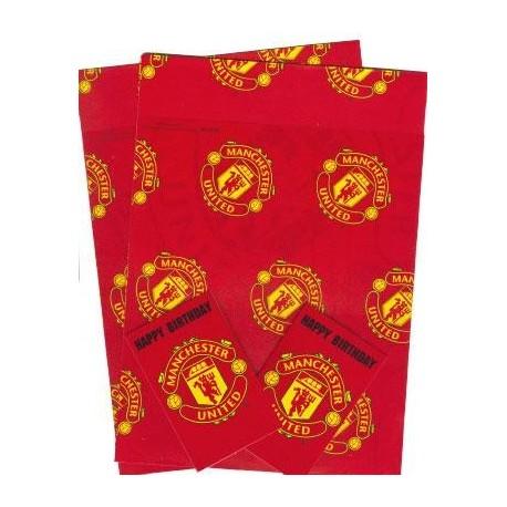 Dárkový balící papír Manchester United FC