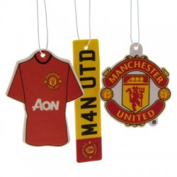 Osvěžovač vzduchu Manchester United FC (3 kusy)