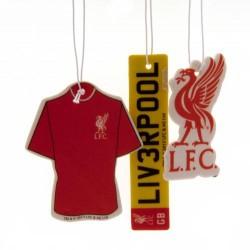 Osvěžovač vzduchu Liverpool FC (3 kusy)