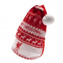 Vánoční čepice Liverpool FC (typ Nordic)